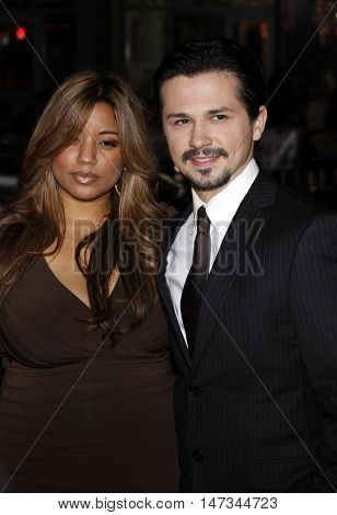 Freddy Rodriguez at the Los Angeles premiere of 'Nothing Like The Holidays' held at the Grauman's Chinese Theater in Hollywood, USA on December 3, 2008.