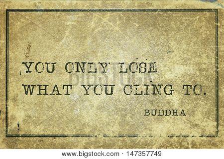 Only Lose Buddha