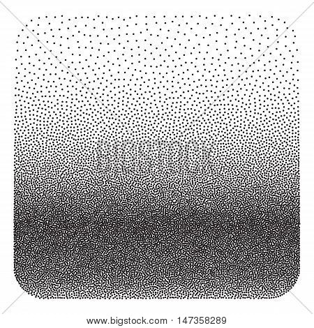 Abstract Dot work Background. Halftone Vector Illustration.