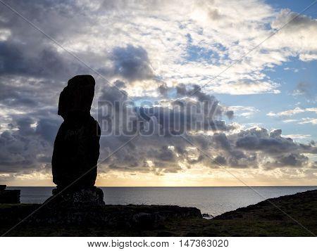 Alone In Ahu Tahai