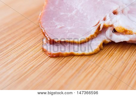 Boiled, Smoked Pork Meat, Pork Neck.