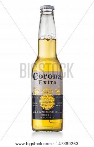 Photo Of A Bottle Of Corona Extra Bee