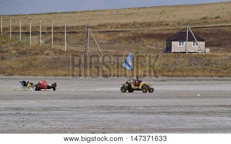 Mini Moto Transport Pass For The Salt Lake