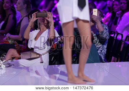 Sofia Fashion Week Female White Shirt
