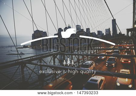 High Quality Brand Marketing Banner Copy Space Concept