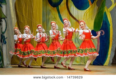 Folk Russian Dance