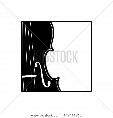 Vector sign music store. Musician, isolated on white