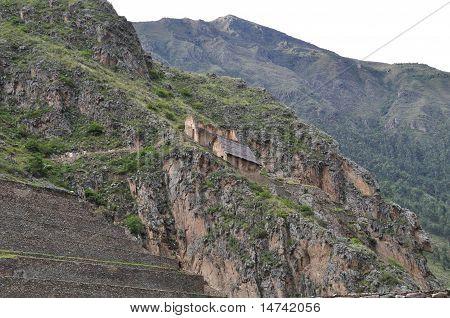 Mountain Houses in Peru