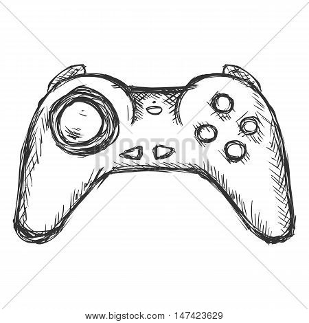 Vector Single Sketch Wireless Joystick