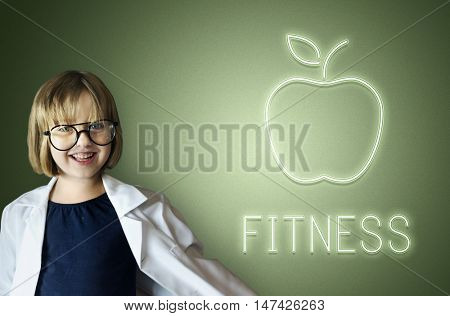 Health Fitness Physically Fit Kid Child Concept