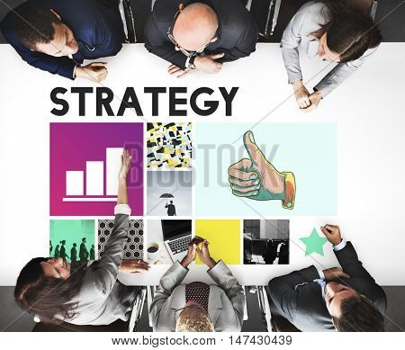 Strategy Motivation Objective Planning Process Concept