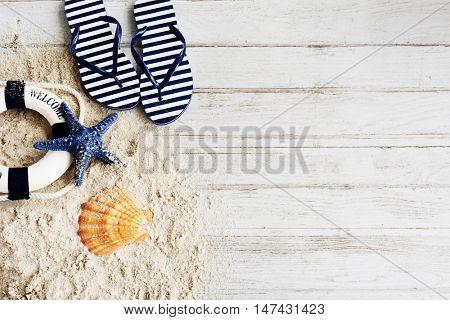 Beach Sand Rescue Flipflop Concept
