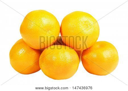 Mandarines cut out