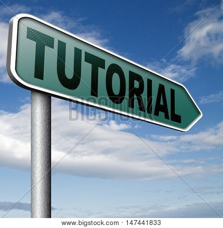 tutorial  learn online video lesson or class, website education  3D illustration