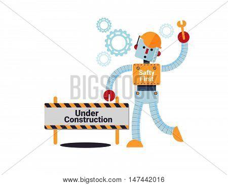 Under Construction Concept Vector Illustration