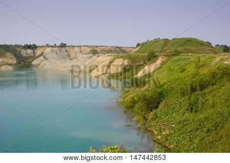 Beautiful Landscape Of Lake, Uchta
