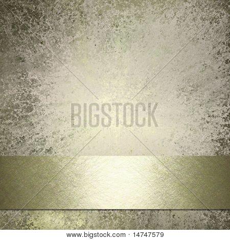 White Grunge Textured Background Parchment