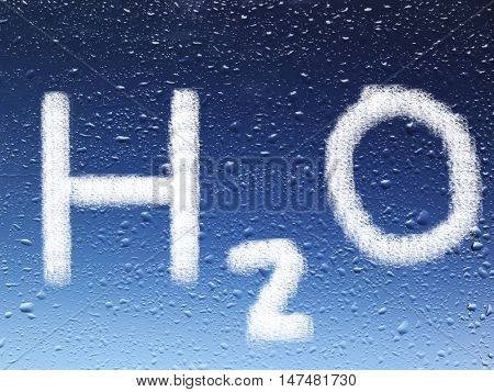 h2o on water