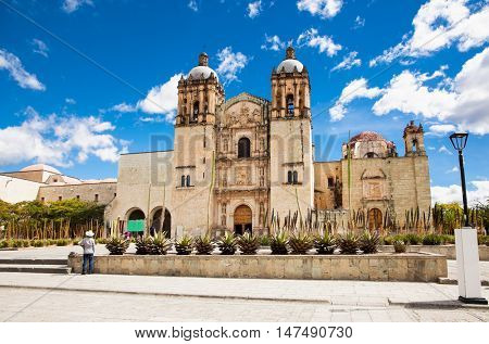 Church of Santo Domingo de Guzman in Oaxaca city, Mexico.