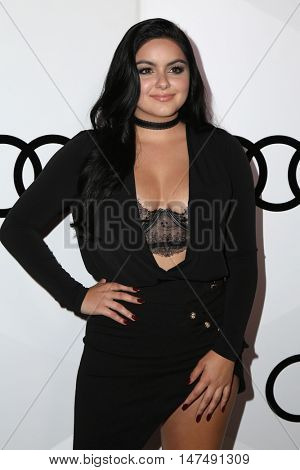 LOS ANGELES - SEP 15:  Ariel Winter at the Audi Celebrates The 68th Emmys at the Catch on September 15, 2016 in West Hollywood, CA