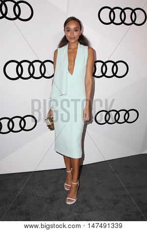 LOS ANGELES - SEP 15:  Ashley Madekwe at the Audi Celebrates The 68th Emmys at the Catch on September 15, 2016 in West Hollywood, CA