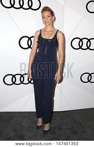 LOS ANGELES - SEP 15:  Elizabeth Banks at the Audi Celebrates The 68th Emmys at the Catch on September 15, 2016 in West Hollywood, CA