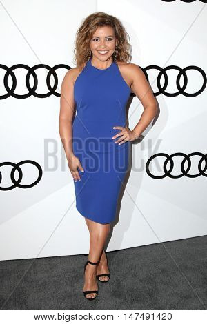 LOS ANGELES - SEP 15:  Justina Machado at the Audi Celebrates The 68th Emmys at the Catch on September 15, 2016 in West Hollywood, CA