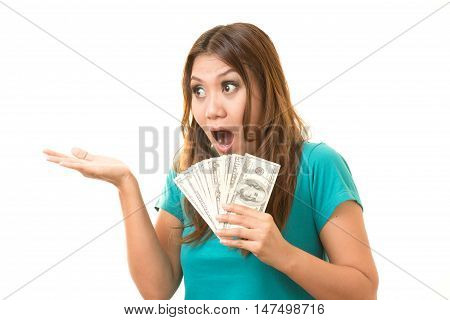 woman was glad to get the money