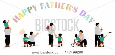 Happy Father's day Banner for Father'sday event