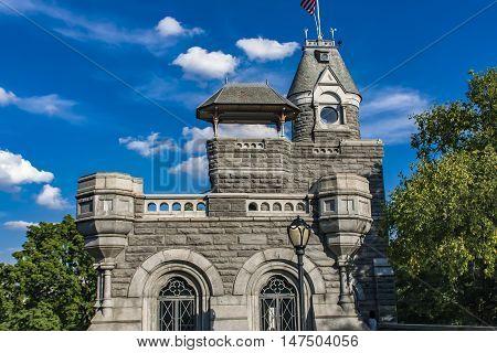 Belvedere Castle In New York City