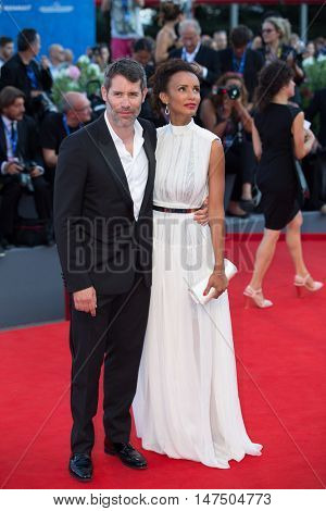 Sonia Rolland, Jalil Lespert at the premiere of Nocturnal Animals at the 2016 Venice Film Festival. September 2, 2016  Venice, Italy