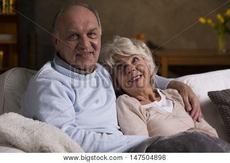 Happy Seniors In The House