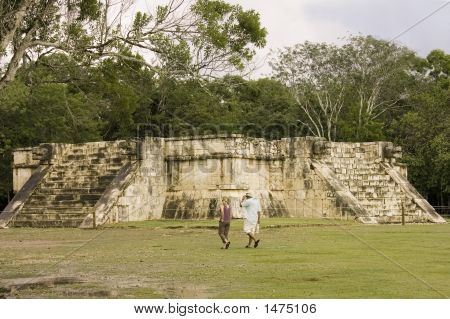 Maya Sacrifice Temple