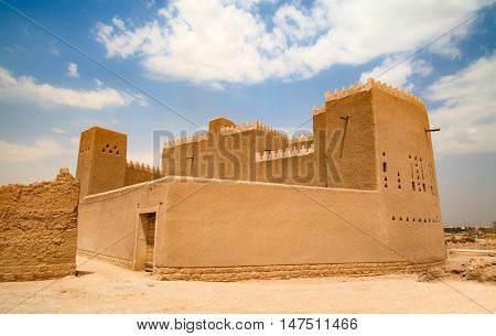 Streets of the old city Diriyah near Ar Riyadh, Kingdom of Saudi Arabia