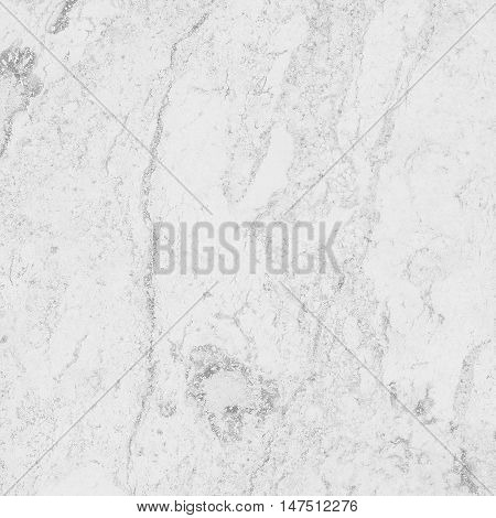 Pattern of white marble texture with gray tracery. Closeup stone surface natural abstract background.