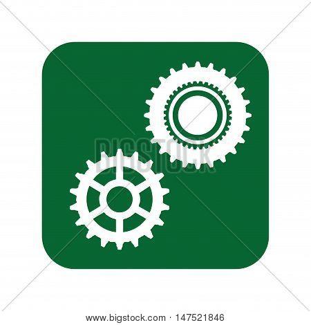 gear cog wheel. power transmission mechanical. vector illustration