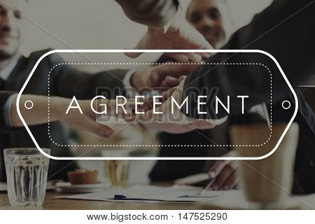 Agreement Alliance Cooperation Deal Partnership Concept