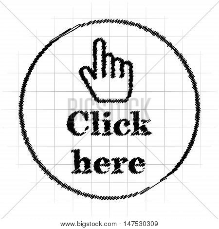 Click Here Icon