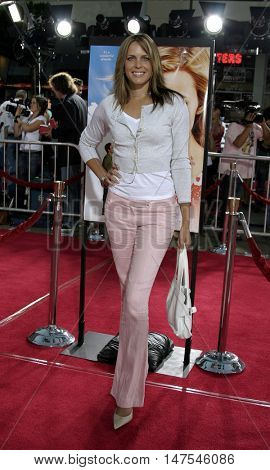 Arianne Zuker at the Los Angeles premiere of 'Just Like Heaven' held at the Grauman's Chinese Theatre Hollywood, USA on September 8, 2005.