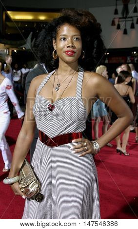 Kelis at the Los Angeles premiere of 'Just Like Heaven' held at the Grauman's Chinese Theatre Hollywood, USA on September 8, 2005.