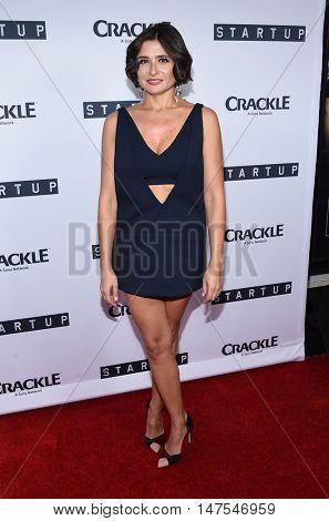 LOS ANGELES - SEP 23:  Verna Cherny arrives to the Crackle's Original Series