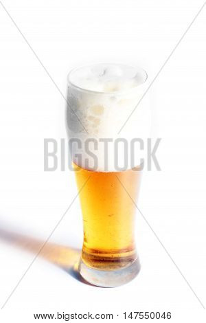 quenches thirst in the heat of a glass of beer