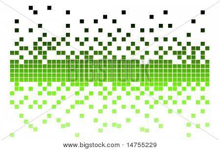 pixel verde