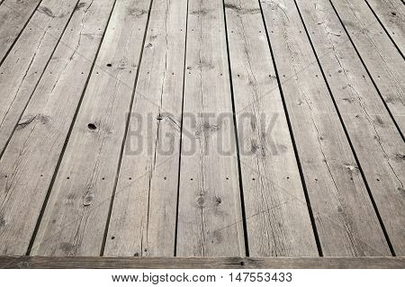 Natural Wooden Floor Background