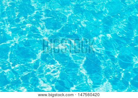 Pool water background. A close up look.