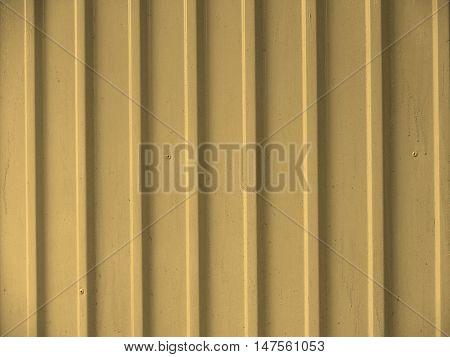 Corrugated Steel Sepia