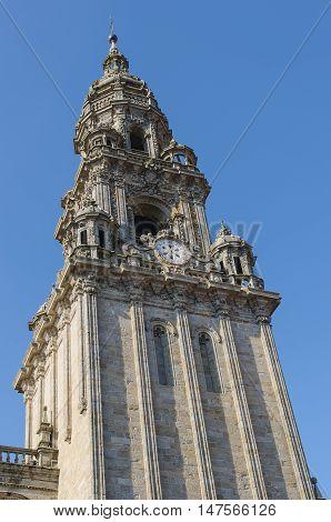 Berenguela Tower In Santiago De Compostela Cathedral