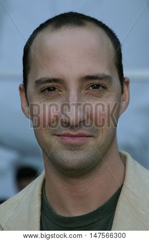 Tony Hale at the Los Angeles premiere of 'The Thing About My Folks' held at the Arclight, Hollywood, USA on September 7, 2005.