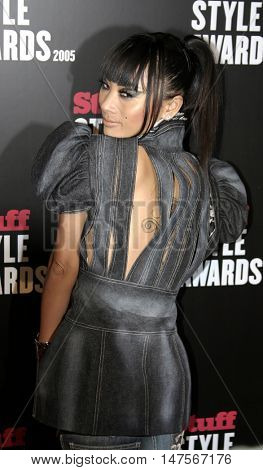 Bai Ling at the 2005 Stuff Style Awards held at the Hollywood Roosevelt Hotel in Hollywood, USA on September 7, 2005.