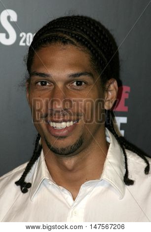 Kareem Abdul-Jabbar Jr. at the 2005 Stuff Style Awards held at the Hollywood Roosevelt Hotel in Hollywood, USA on September 7, 2005.